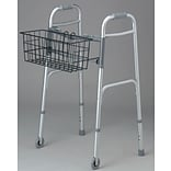 Medline Basket for 2-button Walkers; 300 lb Weight Capacity, 2/Pack