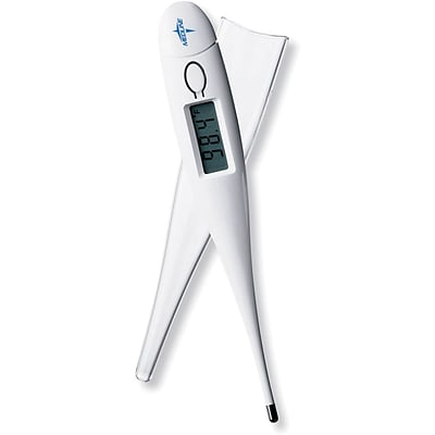 Medline Standard Digital Oral Dual Scale Thermometers, Latex-free, 200/Pack