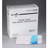 Medline Temple Thermometers Probe Covers, Latex, 250/Box