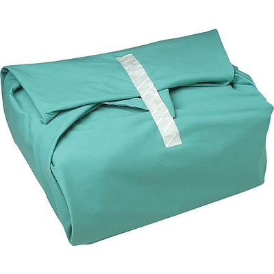 AngelStat™ Bias Bound Wrappers, Jade Green, White Stitching, 54 x 72 Size