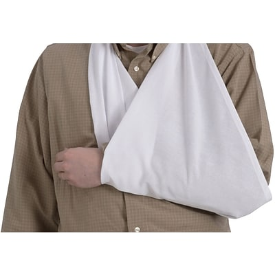 Medline Triangular Arm Sling, OSFM Size 18 x 36, Dozen