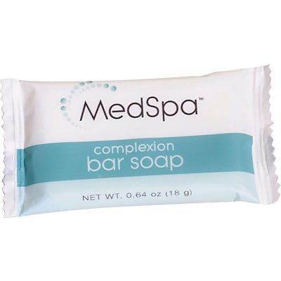 MedSpa™ Complexion Bar Soaps, 1 1/4 oz, Complexion Type, 400/Pack