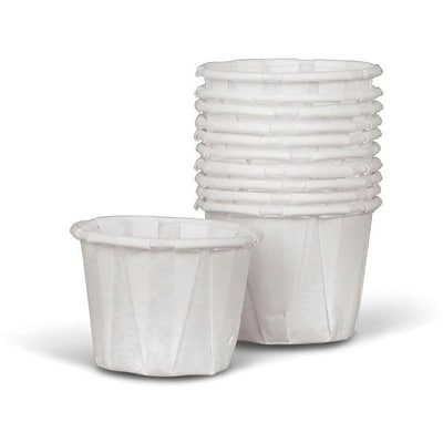 Medline Disposable Paper Souffle Cups, 1/2 oz, 250/Pack