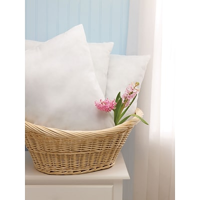 Classic Disposable Pillows, White, 22L x 16W, Lightweight, 12/Pack