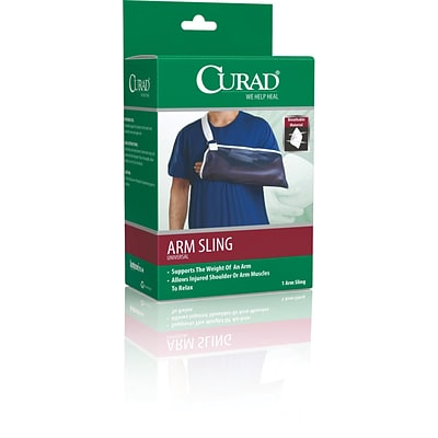 Curad® Arm Slings, Universal Size, 19 1/3 L x 7 3/4 D, 4/Pack
