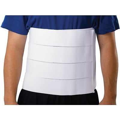 Medline 4-panel Abdominal Binders, Small/Medium, 30 - 45 L, 12 H, Each