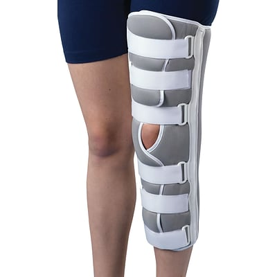 Medline Sized Knee Immobilizers, Large, 12 L, Each