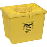 Scott Containers Chemotherapy Sharps Containers, 18 gal., 7/Pack