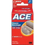 Ace Elastic Bandage with E-Z Clips, 3W (207314)