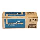 Kyocera Mita TK-582C Cyan Toner Cartridge (1T02KTCUS0); High Yield