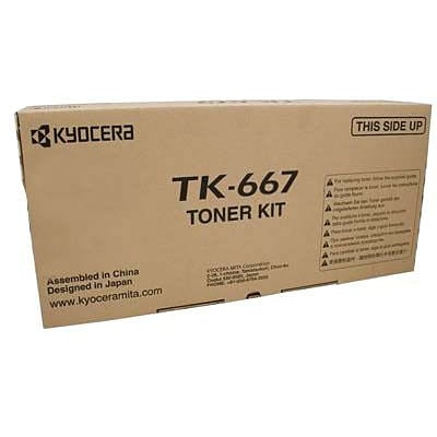 Kyocera Mita TK-665 Black Toner Cartridge (1T02KP0US0), High Yield