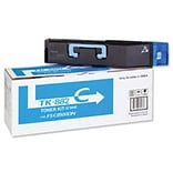 Kyocera Mita TK-882C Cyan Toner Cartridge (1T02KACUS0); High Yield