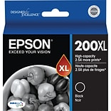 Epson 200XL Black Ink Cartridge; High Yield (T200XL120-S)