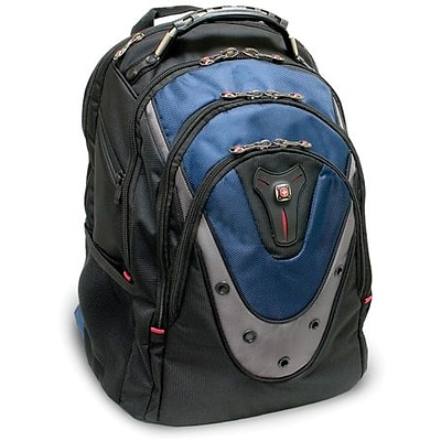 SwissGear® GA-7316-06F00 Ibex Backpack For 17 Notebook, Blue