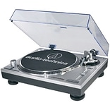 Audio-Technica® AT-LP120USB Direct-Drive Professional Turntable, 33.33/45 RPM/78 RPM