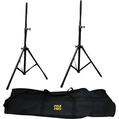 Pyleaudio® PSTK103 Dual Speaker Stand With Traveling Bag Kit