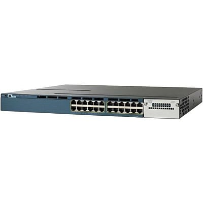 Cisco® WS-C3560X-24P-S Catalyst Ethernet Switch; 24 Ports