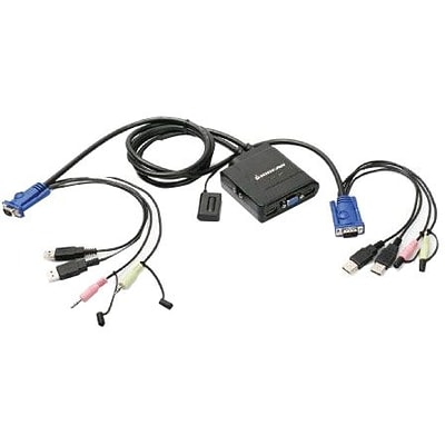 Iogear® GCS72U USB Cable KVM Switch With Audio And Mic; 6
