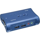 TRENDNET TK-209K USB KVM Switch Kit With Audio; 2 Ports