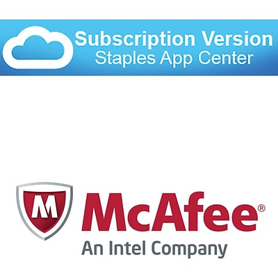 McAfee SaaS Endpoint Protection Security and antivirus (cloud software)