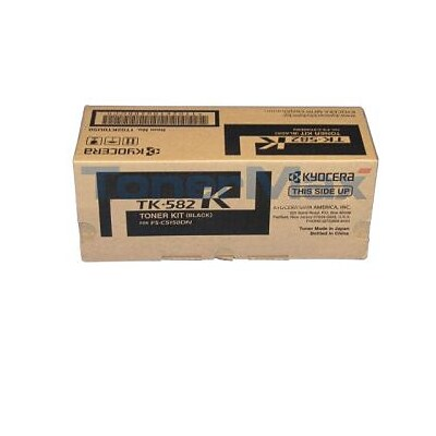 Kyocera Mita TK-582K Black Toner Cartridge (1T02KT0US0), High Yield