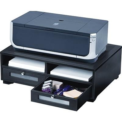 Victor 174 Wooden Desktop Printer Stand Quill Com