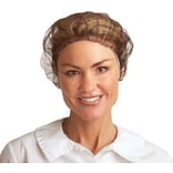 Ambitex® Hairnets, Heavyweight, Nylon, 24, 1,000/Ct