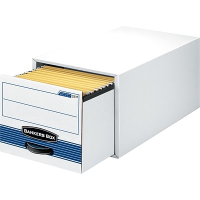Bankers Box® Stor/Drawer® Steel Plus™ Storage Drawers, Legal Size, 6/Carton