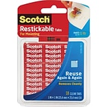 Scotch® Clear Reusable Tabs