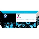 HP 91 Magenta Ink Cartridge (C9468A); 775ml