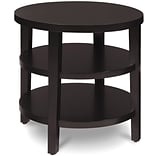 Office Star Avenue Six® Merge Round End Table, Espresso