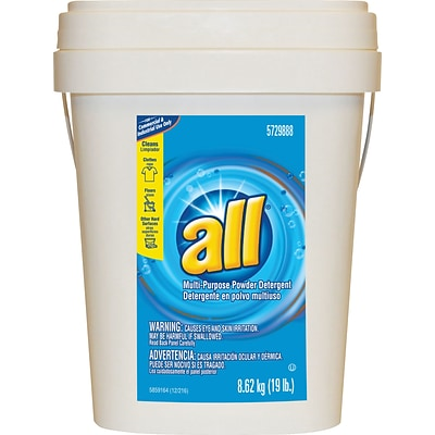 All® Ultra Powder Multipurpose Detergent, 19 lb Pail