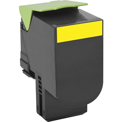 Lexmark 701HY Yellow Toner Cartridge, High Yield (70C1HY0)