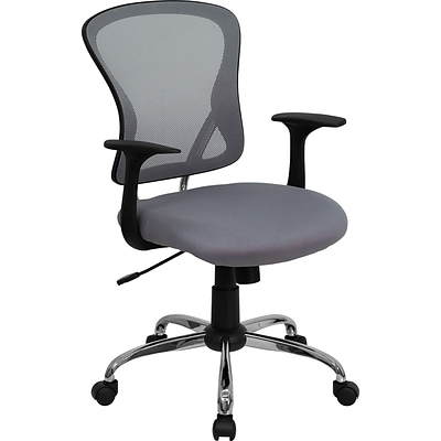 Flash Furniture Mid-Back Office Chair, Gray