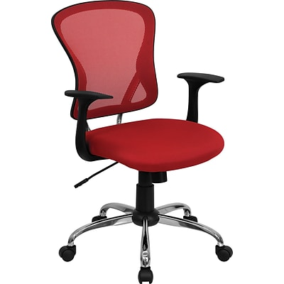 Flash Furniture Mid-Back Office Chair, Red