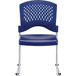 Raynor Eurotech S4000 Plastic Aire Stackable Chair, Black