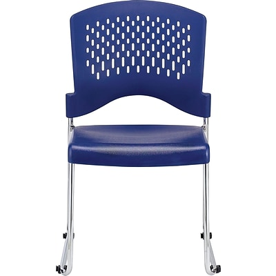 Raynor Eurotech S4000 Plastic Aire Stackable Chair, Navy
