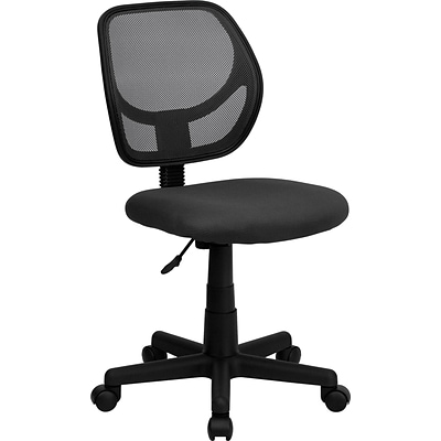 Flash Furniture Mid-Back Task Chair, Gray