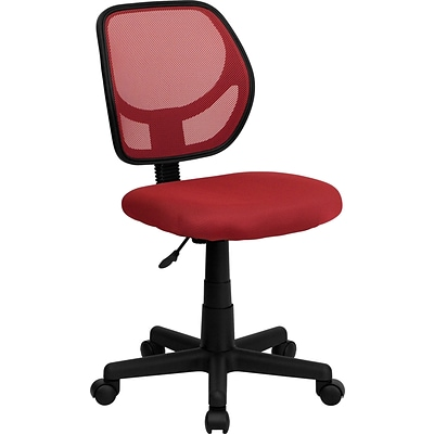 Flash Furniture Mid-Back Task Chair, Red
