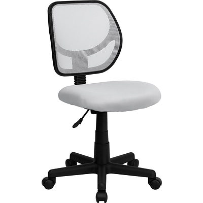 Flash Furniture Mid-Back Task Chair, White
