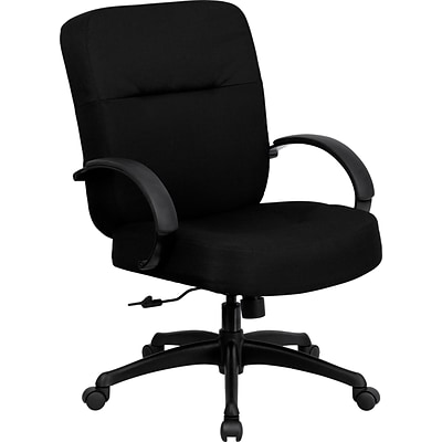 Belnick Hercules™ Series Office Chairs with Arms and Extra Wide Seat, 400 lb Capacity, Black