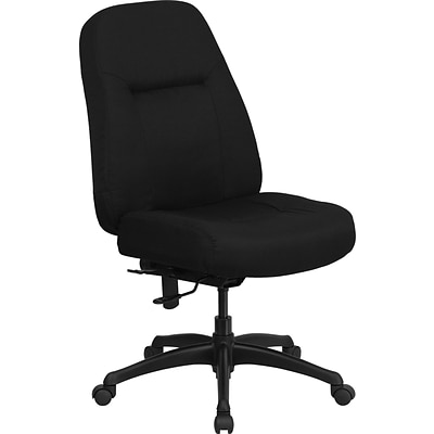 Belnick HERCULES™ Fabric Office Chair with Extra Wide Seat, Black ...