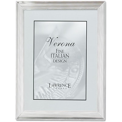 Silver Plated 4x6 Metal Picture Frame