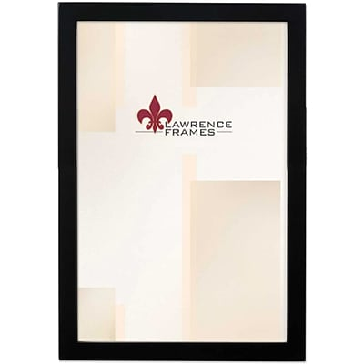 8x12 Black Wood Picture Frame - Gallery Collection