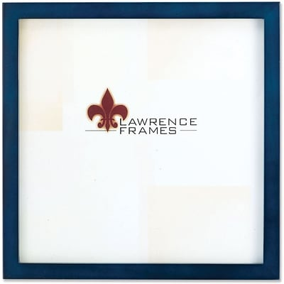 755712 Blue Wood 12x12 Picture Frame - Gallery Collection