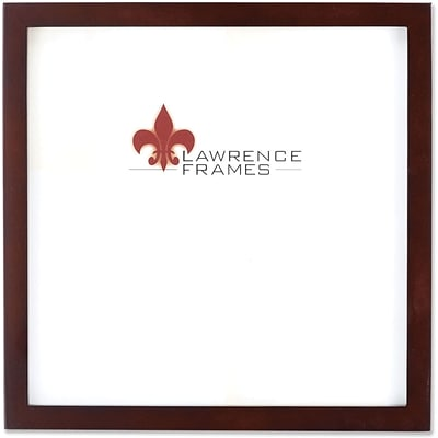 755988 Espresso Wood 8x8 Picture Frame - Gallery Collection