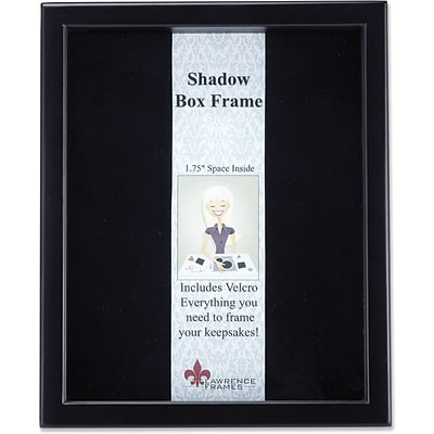 790011 Black Wood Shadow Box 11x14 Picture Frame