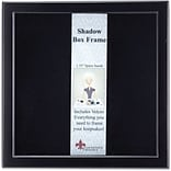 790088 Black Wood Shadow Box 8x8 Picture Frame