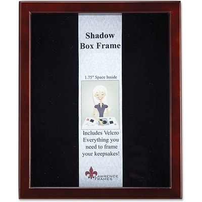 790180 Espresso Wood Shadow Box 8x10 Picture Frame