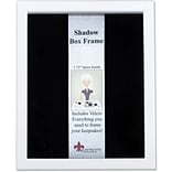 790211 White Wood Shadow Box 11x14 Picture Frame